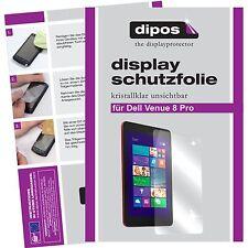 1x Dell Venue 8 Pro Schutzfolie klar Displayschutzfolie Folie dipos Displayfolie