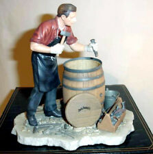 Jack Daniel's Making The Barrels The Cooper Figurine New In Box