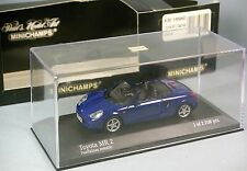 MINICHAMPS 1:43 PMA - TOYOTA MR2 CABRIOLET - Paul's Model Art 1/43 Ltd NEW & BOX