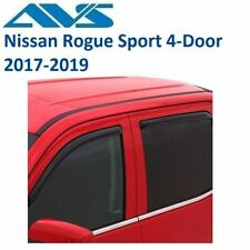 AVS In-Channel Window Deflectors For Nissan Rogue Sport 4-Door 2017-2019- 194782