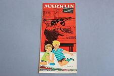 X265 MARKLIN Train depliant 1964 1965 12 pages 21*10 cm F wagon voiture