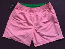 Polo Ralph Lauren hawaiano Shorts De Baño Rosa Talla S o M Harbor
