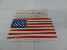Whitney Houston The Star Spangled Banner America the Beautiful Disc