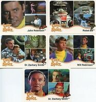 Lost in Space The Complete Lost in Space Promo Card Set 5 Cards