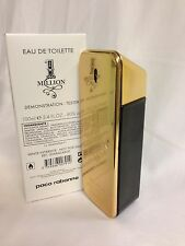 ONE 1 MILLION By PACO RABANNE Men Cologne 3.4 OZ EDT Spray NEW IN TESTR BOX