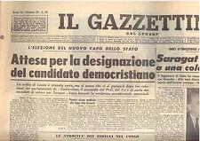 M5 IL GAZZETTINO del lunedi anno 78 n. 49 del 14 dicembre 1964