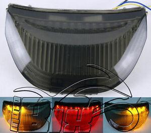 FARO POSTERIORE STOP LED INDICATORI HONDA CBR 600RR 03/06- CBR 1000 04/07 FUME'