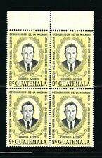 Guatelmala Stamps- Scott # C452/A88-9c-Mint/Nh-1970- Block of 4-Og-Air Postal
