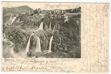 Waterfalls in Tivoli, Roma/Rome, Italy, 1901 to Germany