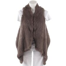 STEFFEN SCHRAUT Fellweste Gr. DE 36 Braun Damen Jacke Vest Gilet Fell Fur