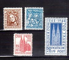 GERMANY 1948 Cologne Cathedral 700th anniv Mint Light  Hinged