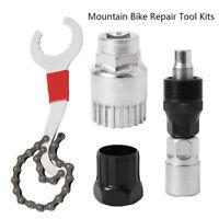 4 in1 Fahrrad Werkzeug Reparatur Set Zahnkranzabzieher Kurbelabzieher Innenlager