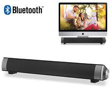 XGODY Wireless Computer Speaker Bluetooth for PC Laptop Desktop Home TV Soundbar