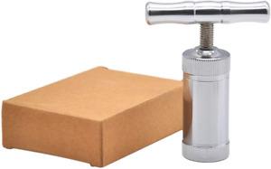 Tech-L Stainless Steel Pollen Press T Press Handle Tool Heavy Duty Durable 100%