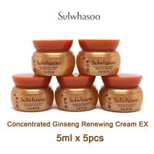 [Sulwhasoo] Concentrated Ginseng Renewing Cream EX 5ml x 5pcs / 2set 7% off
