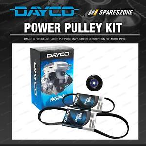Dayco Drive Belt & Pulley Kit for Toyota Tarago TCR10R TCR11R TCR20R TCR21R 2.4L