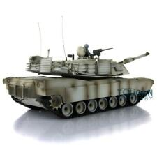 Henglong 1/16 Snow 6.0 Plastic Abrams Rc Tank 3918 Steel Gearbox Barrel Recoil