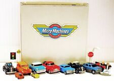 GALOOB MICRO MACHINES INSIDERS DOUBLE-PLAY TOWNE CENTER/ DRAGSTRIP +15 ACC. PCS