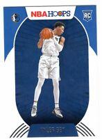 2020-21 Panini NBA Hoops Tyler Bey Rookie RC #220 Dallas Mavericks