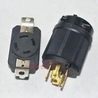 NEMA L14-30P L14-30R 30A 125/250V plug Connector for Generator Cord Assembly 584