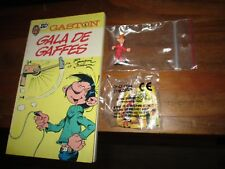 Spirou-Lot  Gaston Lagaffe(numéro 1,)+anciennes figurines des années 90