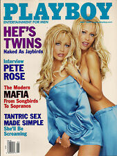 PLAYBOY MAY 2000-B - BROOKE BERRY - HEF'S TWINS NUDE !!!