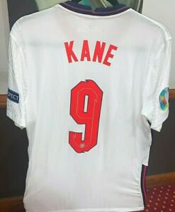 Harry Kane England Player Issue V Italy Uefa Euro 2020 Shirt ( Not match worn )