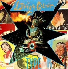 "LIVING COLOUR Type 7"" Single Vinyl Record 45rpm Epic 1990 EX"