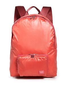 Porter Yoshida Bag Snack Pack Packable Day Pack Back Pack Scarlet Red