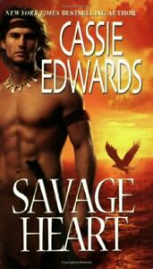 Savage Heart (Zebra Historical Romance) by Edwards, Cassie Paperback Book The