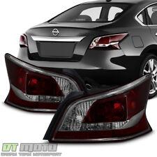 NEW Smoke Lens Tail Lights Brake Lamps For 2013-2015 Altima 4Dr Sedan Left+Right
