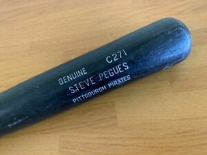 Pittsburgh Pirates Steve Pegues Game Used Cracked Bat