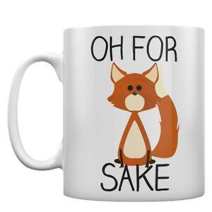 Mug Oh For Fox Sake White