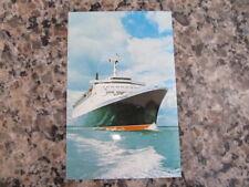 Vintage Cunard Queen Elizabeth II QE 2 Ocean liner Post Card blank / un writen