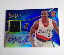 C.J. McCollum Rookie Jersey Auto Card /35 2013/14 Select Blazers NBA Star Mint