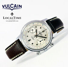 1960's VULCAIN [Swiss] Vintage Sport Chronograph Watch - Valjoux Cal. 7733