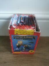 More details for panini minecraft treasure sticker album 2021 full display box (66 packs)