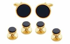 ONYX CUFFLINKS AND TUXEDO STUDS MANUFACTURERS DIRECT PRICING