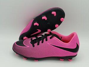 Nike Kids' Bravata II FG Soccer Cleats 844442-800 (Multiple Sizes Available)