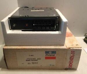 NOS 1972-1974 Cuda Challenger E Body MOPAR AM/FM Radio with Cassette Lead - NEW