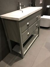 Wash Stand 1000mm wide 3 drawer Bathroom Cabinet Unit Painted Any Colour f&b