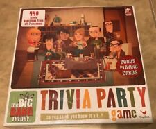 Big Bang Theory Trivia Party Game 440 Questions NEW factory sealed Cardinal
