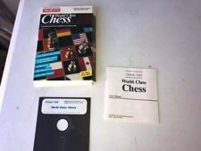 WORLD CLASS CHESS game - IBM PC / Tandy - Complete in Box