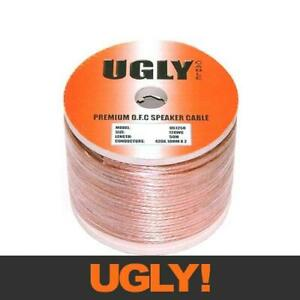 50m UGLY Speaker Cable 12 AWG Gauge 12AWG OFC 420 Strands 2 Cores