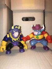 Wild West Cowboys Of Moo Mesa Dakota dude & Colonel cudster 1991 Hasbro
