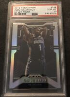 2019 Zion Williamson Silver PSA 10 ROOKIE Panini Prizm Gem/Mint #248