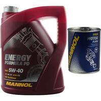 5L MANNOL Motoröl Energy Formula PD 5W-40 Motorspülung Motor Flush
