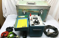 Megger Micro OhmMeter Programmma Model MOM200A with Case