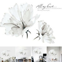Removable Wall Stickers Floral Flower Sofa Bedroom Home Art Decals Decor DIY Hot
