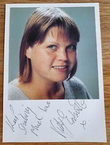 Vicky Entwistle (Janice Battersby - Coronation St hand signed photo